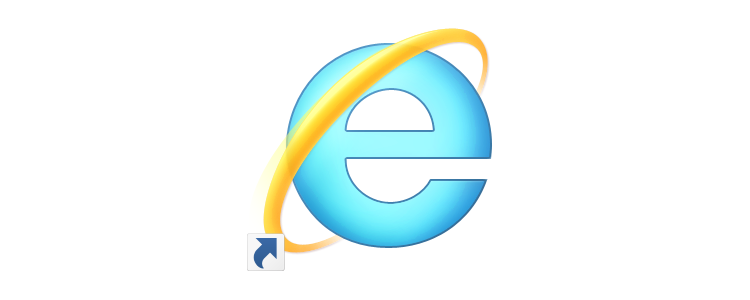 Internet Explorerのショートカットアイコン